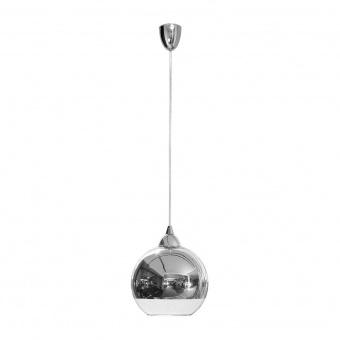 стъклен пендел, chrome, nowodvorski, globe, 1x40w, 4952
