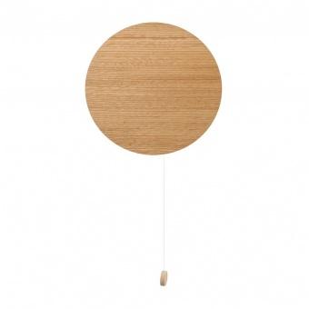 дървен аплик, oak, nowodvorski, minimal, 1x20w, 9377