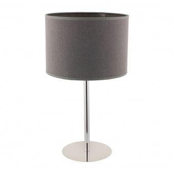 текстилна настолна лампа, grey, nowodvorski, hotel, 1x40w, 9301