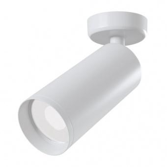 метален спот, white, maytoni, focus, 1x35w, c017cw-01w