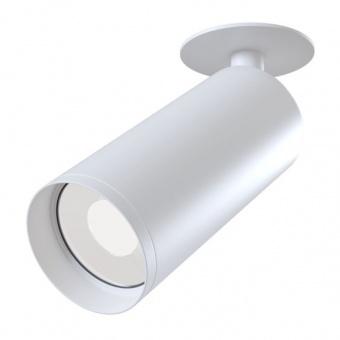 метален спот, white, maytoni, focus, 1x35w, c018cl-01w