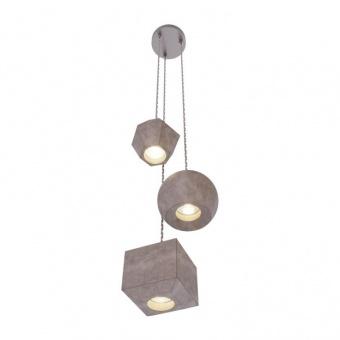 полилей от бетон, concrete, nowodvorski, geometric, 3x25w, 9695