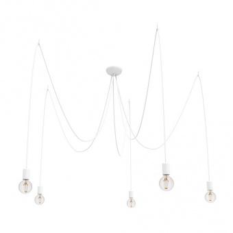 метален полилей, white, nowodvorski, spider, 5x40w, 9744