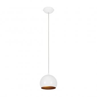 метален пендел, white+gold, nowodvorski, ball, 1x25w, 6602