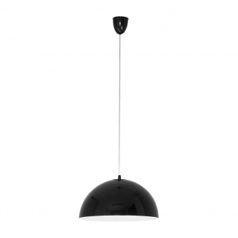 метален пендел, black+white, nowodvorski, hemisphere s, 1x60w, 4838