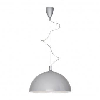 метален пендел, grey+white, nowodvorski, hemisphere l, 1x60w, 5073