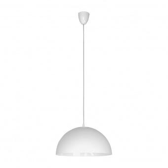 метален пендел, white, nowodvorski, hemisphere s, 1x60w, 4841