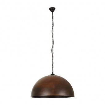 метален пендел, brown, nowodvorski, hemisphere rust l, 1x40w, 6368