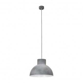 метален пендел, concrete+grey, nowodvorski, works, 1x40w, 6510