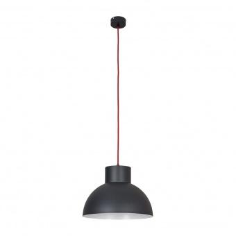 метален пендел, graphite+red, nowodvorski, works, 1x40w, 6511