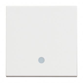 ключ обикновен сх.1 с индикаторна лампа, 10a, white 2m, bticino, classia, rw4001m2l