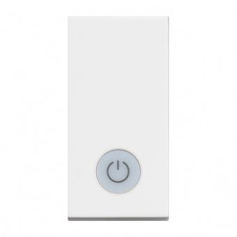 ключ обикновен сх.1 с индикаторна лампа, 16a, white 1m, bticino, classia, rw4001ls