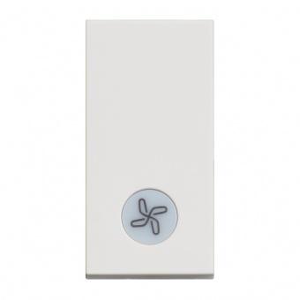 ключ обикновен сх.1 с индикаторна лампа, 10a, white 1m, bticino, classia, rw4001lr
