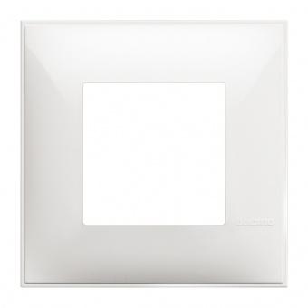 PVC рамка, white, bticino, classia, r4802rw