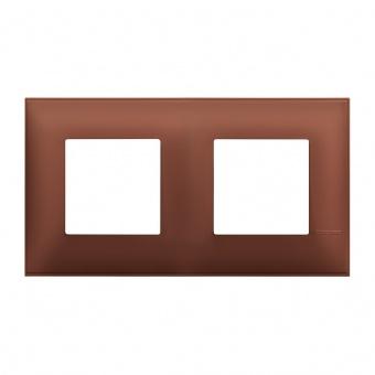 PVC двойна рамка, siena soft, bticino, classia, r4802m2sf
