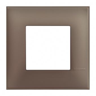 PVC рамка, terra soft, bticino, classia, r4802tf
