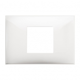 PVC двумодулна рамка, white, bticino, classia, r4819rw