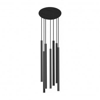 метален полилей, black, nowodvorski, laser, 7x10w, 8920