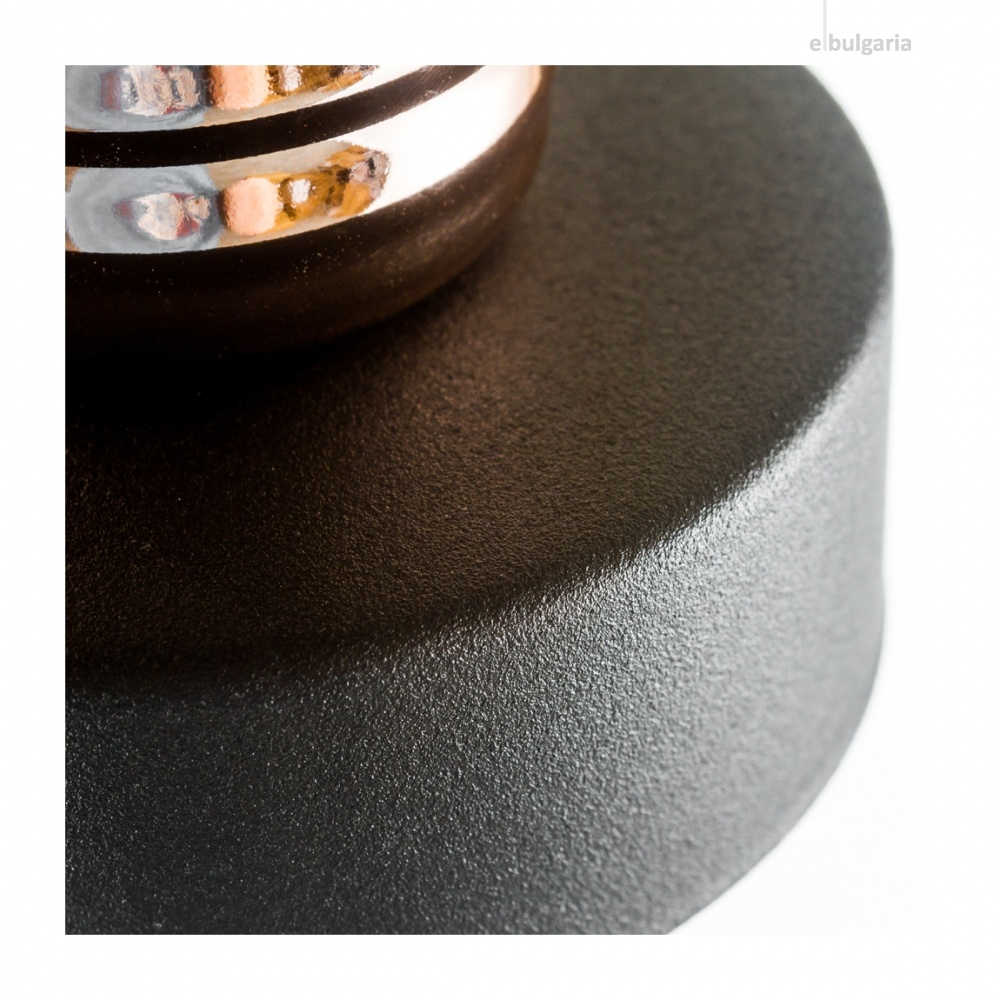 метален плафон, black+copper, nowodvorski, manufacture, 1x40w, 9741