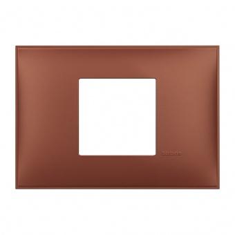 PVC двумодулна рамка, siena soft, bticino, classia, r4819sf