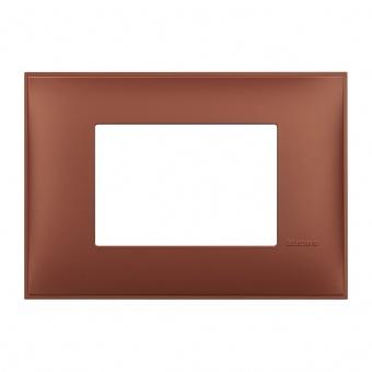 PVC тримодулна рамка, siena soft, bticino, classia, r4803sf