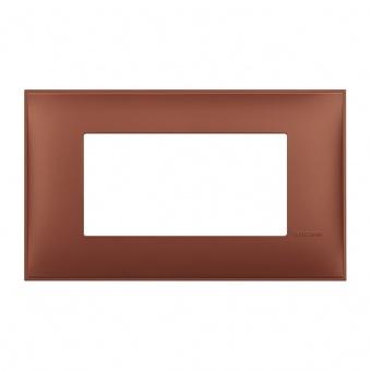 PVC четиримодулна рамка, siena soft, bticino, classia, r4804sf