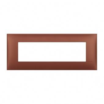 PVC седеммодулна рамка, siena soft, bticino, classia, r4807sf