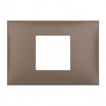PVC двумодулна рамка, terra soft, bticino, classia, r4819tf