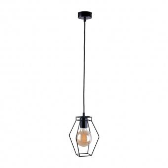 метален пендел, black, nowodvorski, fiord, 1x40w, 9670