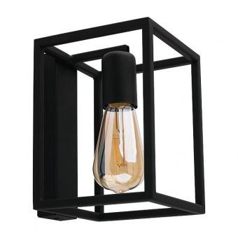 метален аплик, black, nowodvorski, crate, 1x40w, 9046