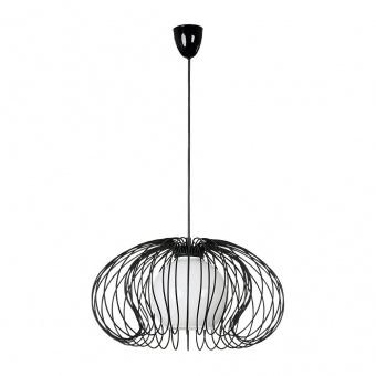 метален пендел, black, nowodvorski, mersey, 1x40w, 5296