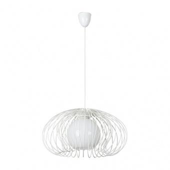 метален пендел, white, nowodvorski, mersey, 1x40w, 5295