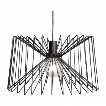 метален пендел, black, nowodvorski, ness, 1x40w, 6768
