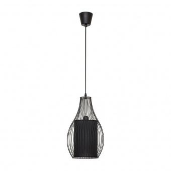 метален пендел, black, nowodvorski, camilla, 1x40w, 4610