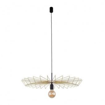 метален пендел, gold+black, nowodvorski, umbrella, 1x40w, 8874
