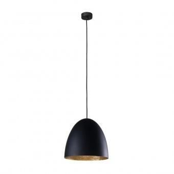 метален пендел, black+gold, nowodvorski, egg m, 1x40w, 9022