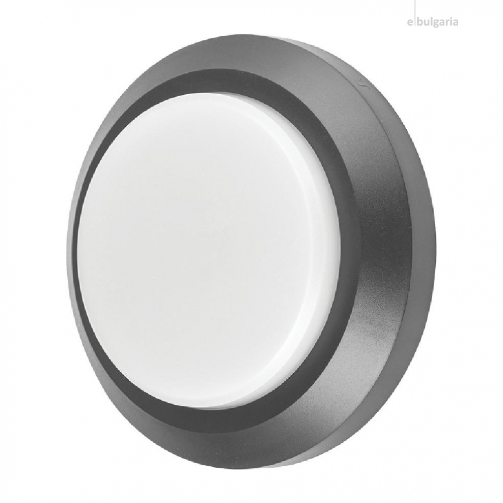 метално градинско тяло, dark grey, vivalux, alvia rd, led 3w, 4000k, 250lm, 003667