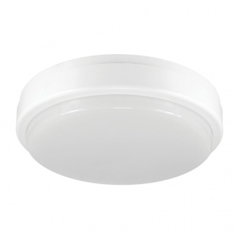 pvc градинско тяло, white+clear, vivalux, ellis/r, led 12w, 4000k, 850lm, 003685