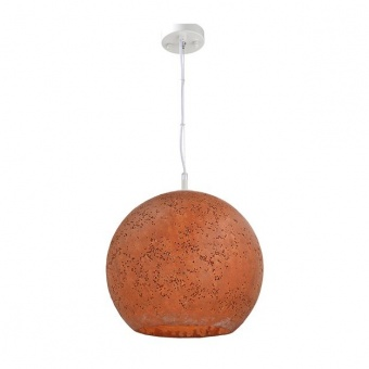 пендел от глина, maroon+matt white, aca lighting, avantgarde, 1x40w, v372351prd