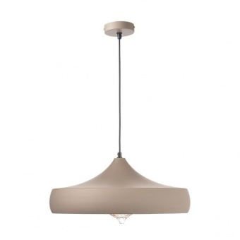 метален пендел, sand brown+gold, aca lighting, vintage, 1x40w, ks07961pkg