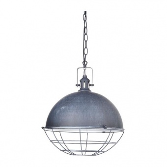 метален пендел, antique grey, aca lighting, vintage, 1x40w, gn591pgy