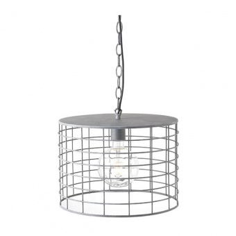 метален пендел, cement shade, aca lighting, vintage, 1x40w, gn731plce