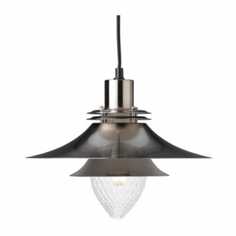метален пендел, satin nikel+white, aca lighting, style, 1x40w, ks07871psn