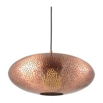 метален пендел, satin copper, aca lighting, style, 1x40w, v371121pc
