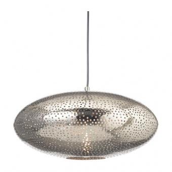 метален пендел, polished nickel, aca lighting, style, 1x40w, v371121ps