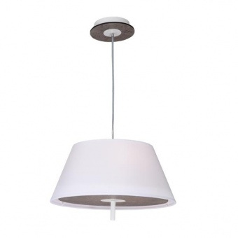 текстилен полилей, cement shade+white, aca lighting, textile, 3x40w, zm16403pc