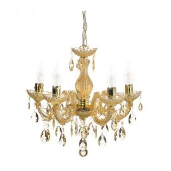 pvc полилей, amber+gold, aca lighting, acrylic, 5x40w, sf3505pam