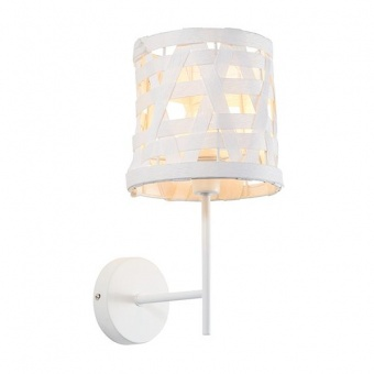 метален аплик, white, aca lighting, primary, 1x40w, ml307211ww
