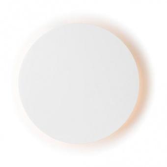 pvc аплик, matt white, aca lighting, wall&ceiling luminaires, led 5w, 3000k, 400lm, zm1705ledww
