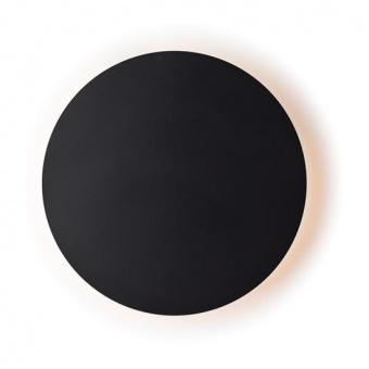 pvc аплик, matt black, aca lighting, wall&ceiling luminaires, led 5w, 3000k, 400lm, zm1705ledwb